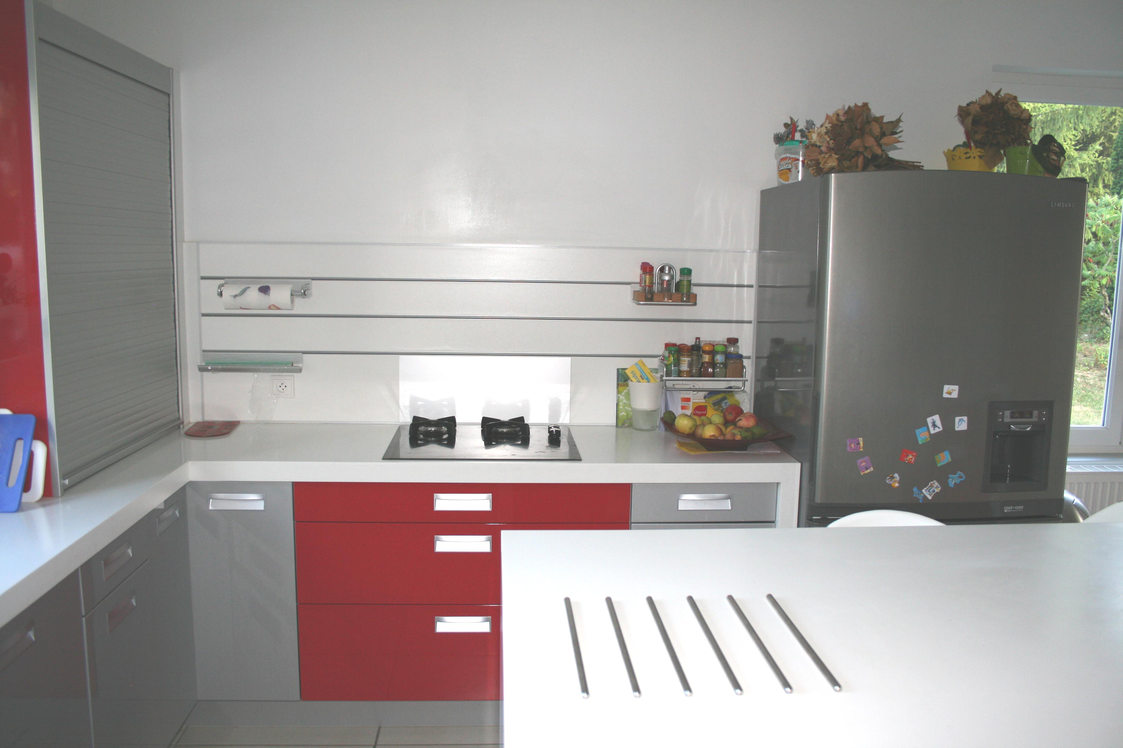 cuisines contemporaines meubles decroix. Black Bedroom Furniture Sets. Home Design Ideas